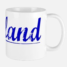 Gilliland, Blue, Aged Mug