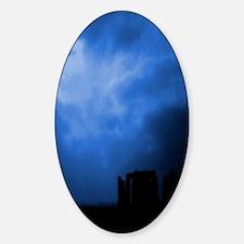 Blue Stonehenge Decal