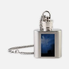 Blue Stonehenge Flask Necklace