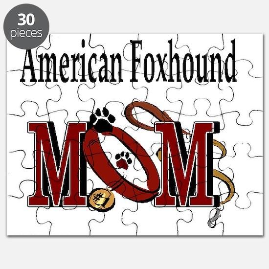 American Foxhound Mom Puzzle