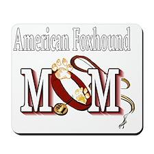 American Foxhound Mom Mousepad