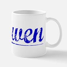 Gowen, Blue, Aged Mug