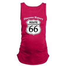 Route 66 - Discover History Maternity Tank Top