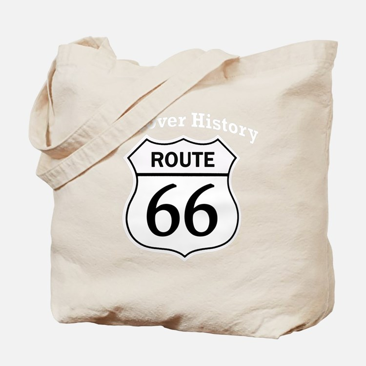 Route 66 - Discover History Tote Bag