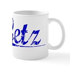 Getz, Blue, Aged Mug