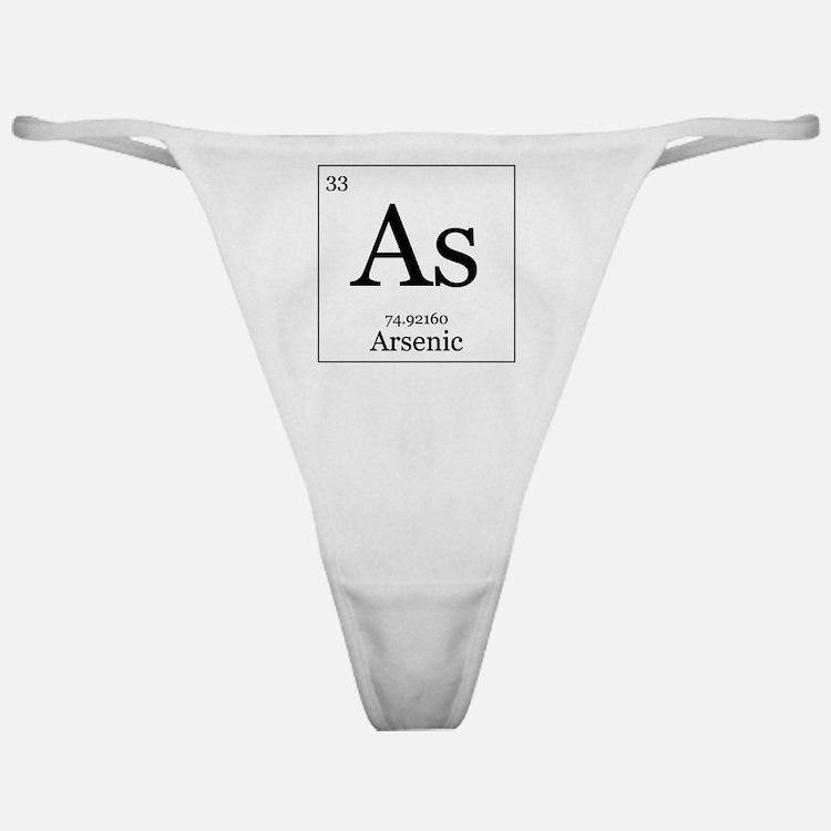 Elements - 33 Arsenic Classic Thong