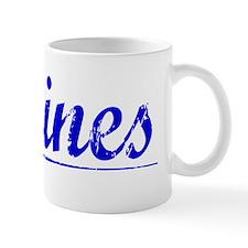 Godines, Blue, Aged Mug