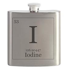 Elements - 53 Iodine Flask