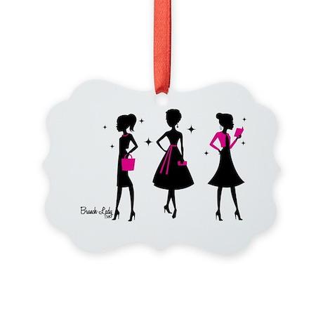 Brunch Lady Trio Picture Ornament