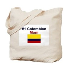 #1 Colombian Mom Tote Bag