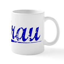 Grau, Blue, Aged Mug