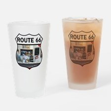 Route 66 - Devils Rope Museum - Tex Drinking Glass