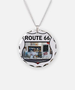 Route 66 - Devils Rope Museu Necklace