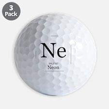 Elements - 10 Neon Golf Ball