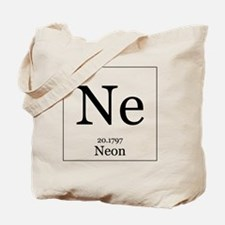 Elements - 10 Neon Tote Bag