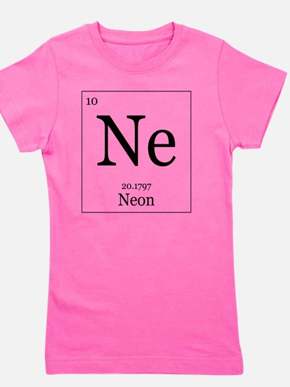 Elements - 10 Neon Girl's Tee