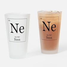 Elements - 10 Neon Drinking Glass