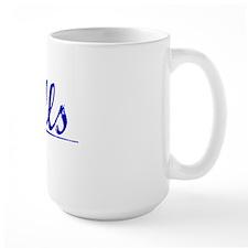 Gills, Blue, Aged Mug
