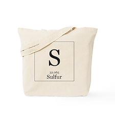 Elements - 16 Sulfur Tote Bag