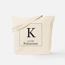Elements - 19 Potassium Tote Bag