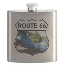Discover History - Route 66 - Blue Whale at  Flask