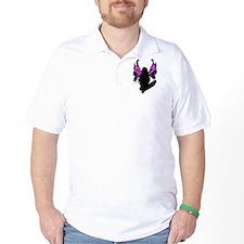 SKULL FAIRY SILHOUETTE T-Shirt