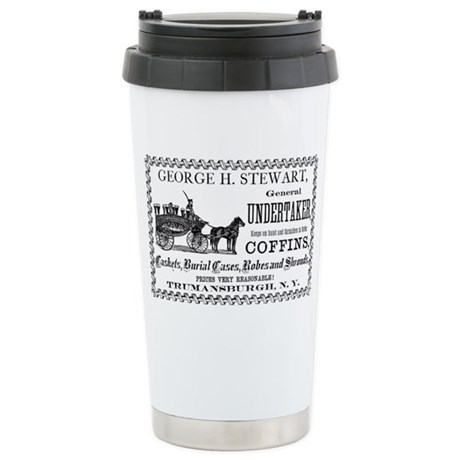 Coffins Are Us Stainless Steel Travel Mug