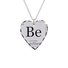 Elements - 4 Beryllium Necklace Heart Charm