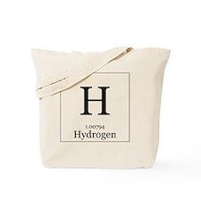 Elements - 1 Hydrogen Tote Bag