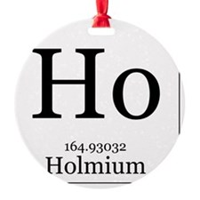 Elements - 67 Holmium Ornament