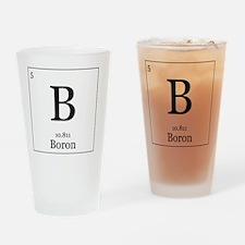 Elements - 5 Boron Drinking Glass