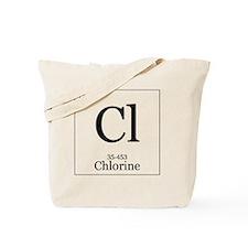 Elements - 17 Chlorine Tote Bag