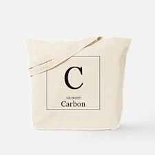 Elements - 6 Carbon Tote Bag