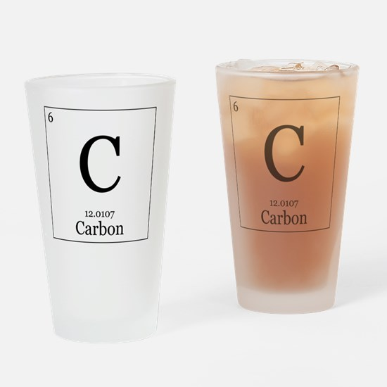 Elements - 6 Carbon Drinking Glass