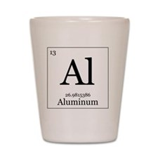 Elements - 13 Aluminum Shot Glass