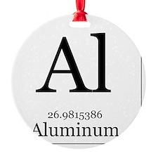 Elements - 13 Aluminum Ornament