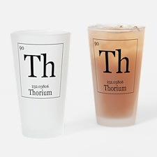 Elements - 90 Thorium Drinking Glass