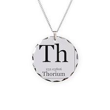 Elements - 90 Thorium Necklace Circle Charm