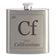 Elements - 98 Californium Flask