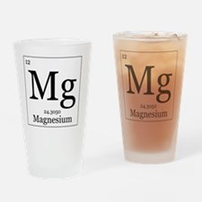 Elements - 12 Magnesium Drinking Glass