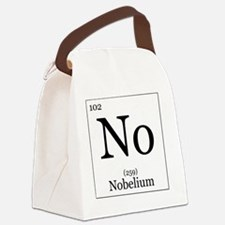 Elements - 102 Nobelium Canvas Lunch Bag