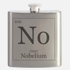 Elements - 102 Nobelium Flask
