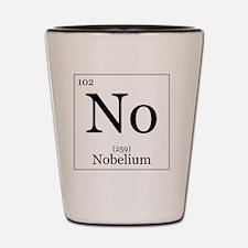 Elements - 102 Nobelium Shot Glass