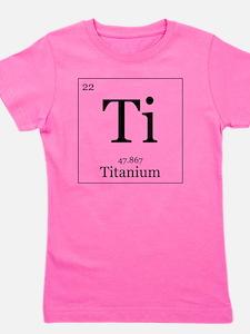Elements - 22 Titanium Girl's Tee