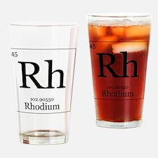 Elements - 45 Rhodium Drinking Glass
