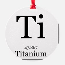 Elements - 22 Titanium Ornament