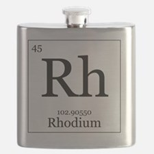 Elements - 45 Rhodium Flask