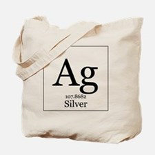 Elements - 47 Silver Tote Bag