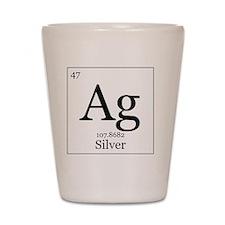 Elements - 47 Silver Shot Glass