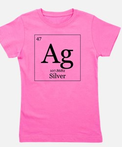 Elements - 47 Silver Girl's Tee